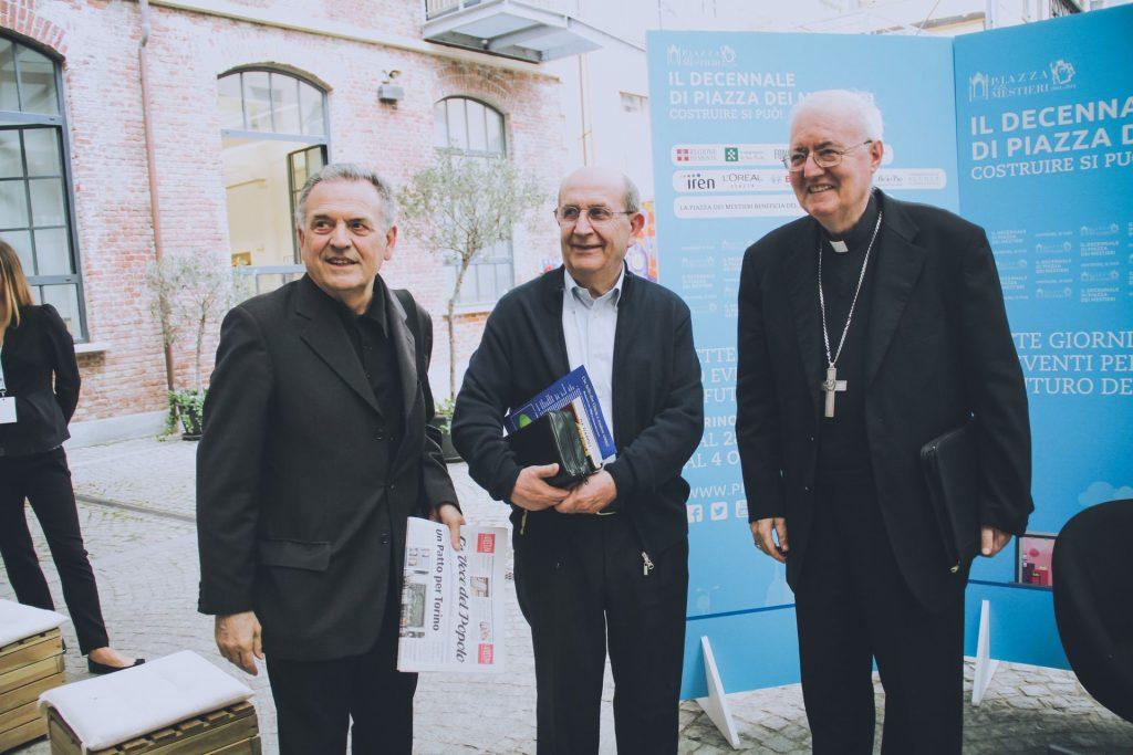 Don Primo Soldi, Ernesto Olivero, Cesare Nosiglia